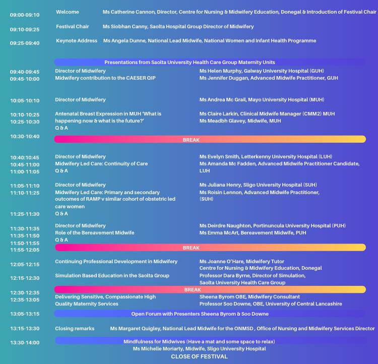 Saolta Festival Programme